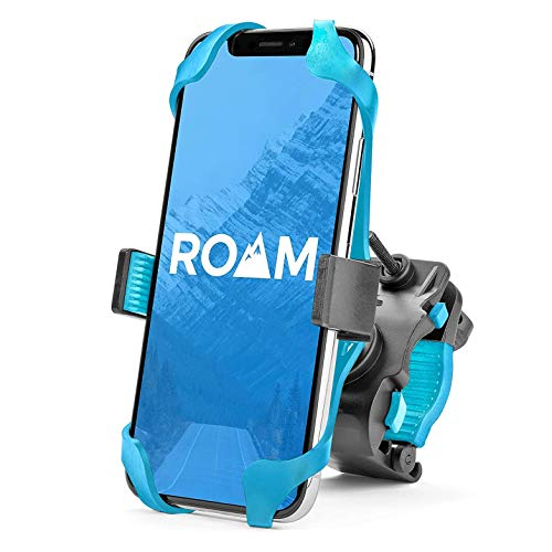 """Roam Universal Premium Bike Phone Mount for Motorcycle - Bike Handlebars, Adjustable, Fits iPhone X, iPhone 8 