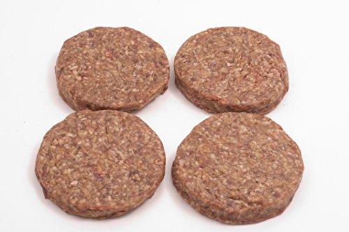 Classic Burger-Patties(4x160g) - für Hamburger & Cheeseburger, mild gewürztes Rindfleisch - saftig, aromatisch & lecker