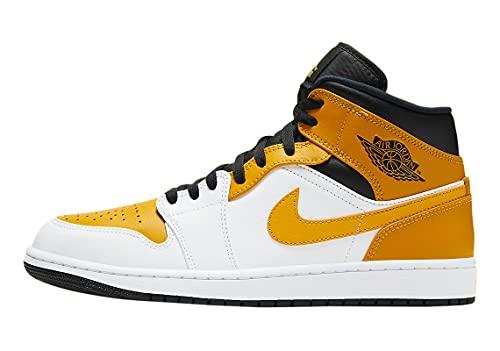 Nike air jordan 1 mid university gold da uomo - 45
