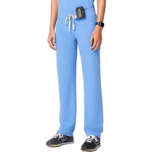 FIGS Women's Livingston Petite Basic Scrub Pants Graphite