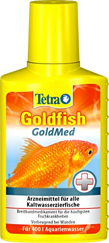 Tetra Medica GoldOomed (Arzneimittel für Gold- und andere Kaltwasserfische zur Behandlung von ektoparasitären Erkrankungen und Pilzbefall), 100 ml Flasche
