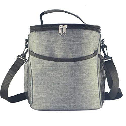 XINGDONG Ispessita Isolamento di Grande capienza del Sacchetto del Pranzo Box Lunch Box Bag Student Freschezza Ice Bag Borsa Borsa Borsa di Isolamento con Pranzo al Sacco Box Lunch Bag Durevole