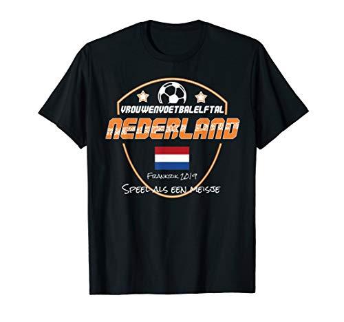 Niederlande FrauenFußball Trikot 2019 niederländisches T-Shirt