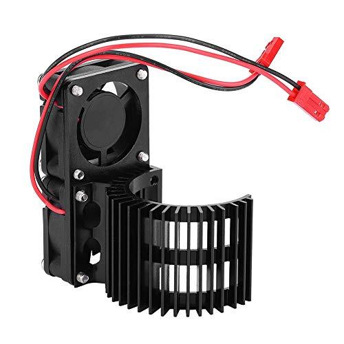 Disipador de Calor del Motor RC, Ventilador de Enfriamiento Lateral para Escala 1/10 540 550 Motor RC Piezas de Repuesto para Automóviles