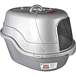 Nature's Miracle Oval Hooded Flip Top Litter Box