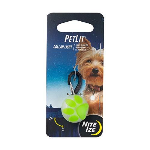 Nite Ize Petlit - Accesorios para Mascotas para Hombre, Color Verde