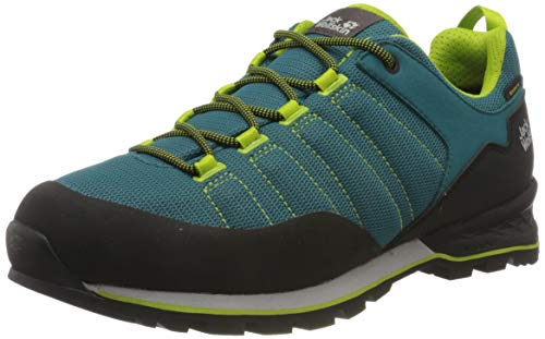 Jack Wolfskin Herren Scrambler LITE Texapore Low M Walking-Schuh, Green/Lime, 47 1/3 EU