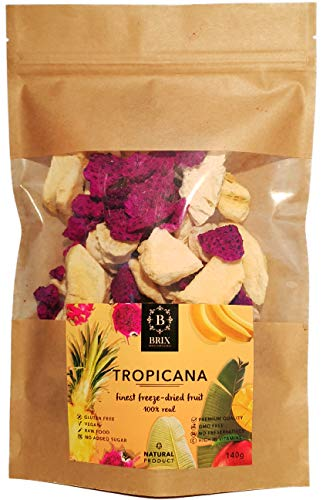 Tropicana - Gemischtes Gefriergetrocknete Früchte 140g
