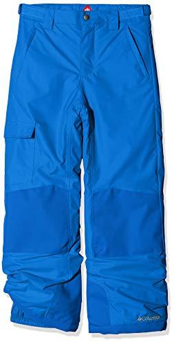 Columbia Wasserdichte Skihose für Kinder, Bugaboo II Pant, Nylon, Blau (Super Blue), Gr. M, 1806712