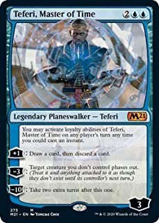 Magic: The Gathering - Teferi, Master of Time (275) - Alternate Art - Core Set 2021