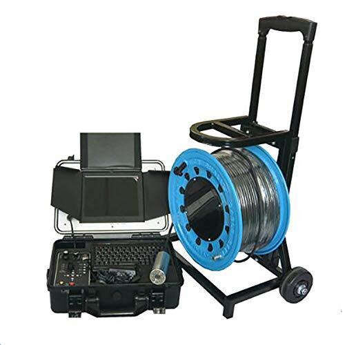 TQ 100 Meter weiches Kabel Unterwasser-Brunneninspektion Kamera Schornstein-Inspektionskamera mit 55mm Kamerakopf und dvr-Box