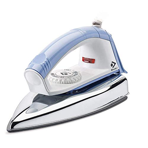Bajaj Neo 1000W Plastic New Popular Dry Iron, 17.5 Quart, Blue
