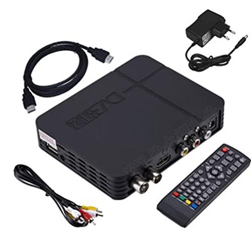 GMN Receptor de TV HDTV DVB-T2 Receptor de decodificador TDT de Video Digital HD MYTV