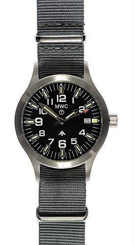 MWC MKIII Militär Uhr mit Tritium GTLS Röhren–wasserdicht bis 100m
