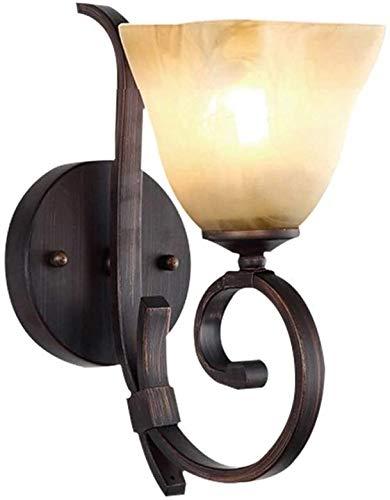 Wandlampen, Amerikaans, rustiek, antieke look, wandbescherming voor de zijwand van het schip van de ladder, decoratieve wandlamp, fixeerture, ijzeren kunst, industriële kamer vintage, glaswand