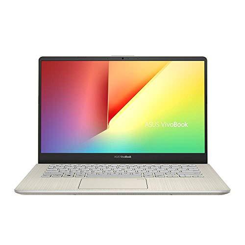 ASUS VivoBook S14 S430UA 90NB0J55-M00900 Notebook (35,6 cm, 14 Zoll, FHD, Matt, Intel Core i5-8250U, 8GB RAM, 256GB SSD, Intel UHD-Grafik 620, Windows 10 Home) icicle gold