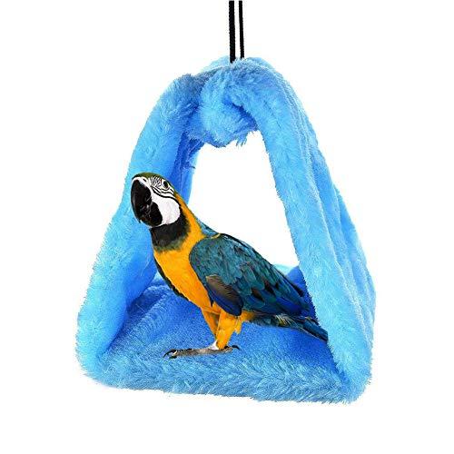 SayHia Warme vogelnest huis, hangmat speelgoed voor wellnessittich Nymphensittich Conure Lovebird African Grey Amazon Parrot Cage Barsch staander