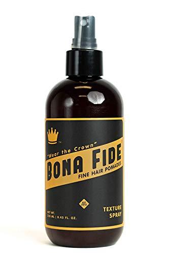 ボナファイドポマード (BONA FIDE POMADE) テクスチャースプレー [ヘアスプレー メンズ ] ポマード 水性 pomade ヘアワックス ヘアグリース 寝癖直し ヘアミスト (250ml)