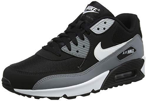 Nike Herren Air Max 90 Essential Gymnastikschuhe, Schwarz (Black/White/Cool Grey/Anthracite 018), 42 EU