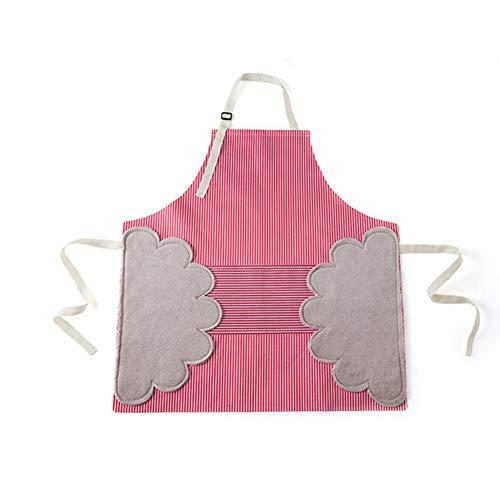 FSGD Apronas per Le Donne, Regolabile da Cucina Grembiule con Tasche Chef Grembiule per Cottura Giardinaggio Cooks Ristorante Barbecue