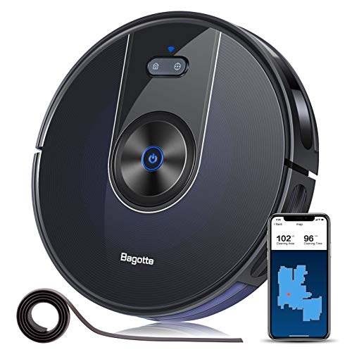 Bagotte BG800 Robot Vacuum Cleaner with Remote...