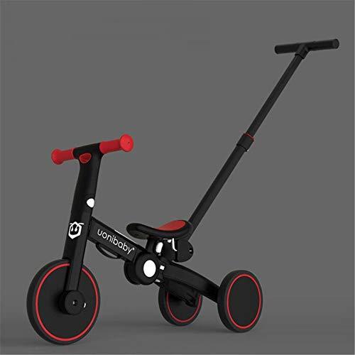 5 en 1Bicicleta sin Pedales para Niños,Bicicleta para Niños Pequeños para Niños...