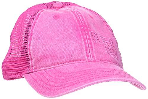 Superdry Trucker Cap Gorra de béisbol, Rosa (Pink Acid Wash H2e), OS...