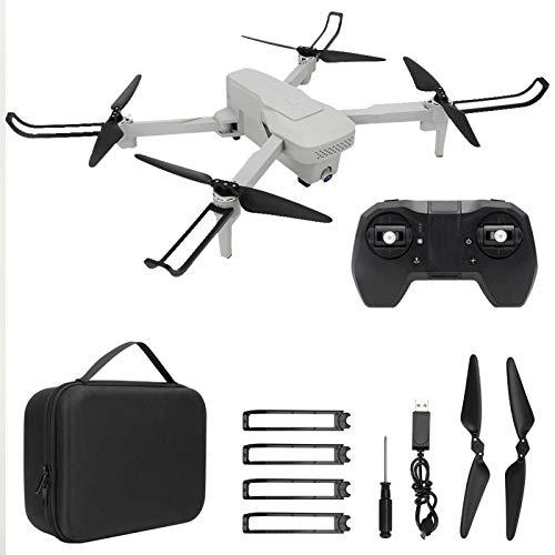 Mini 5G GPS Intelligent Follow Drone 4K Cámara de Alta definición Drone de posicionamiento de Flujo óptico para Amantes de los Drones(Blanco)