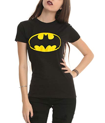 DC Comics Batman Symbol Junior T-Shirt-Junior Large [JL]