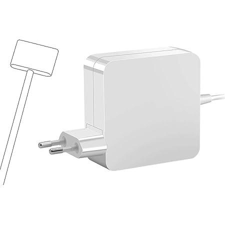 Kompatibel mit MacBook Pro Ladeger/ät 60W MS 1-Netzteiladapter L-Tip-Anschluss f/ür MacBook Air 11 Zoll und 13 Zoll 2009, Ende 2010, 2011, 2012, Sommer