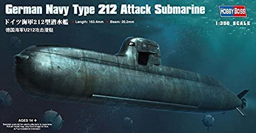 60% de descuento Hobby Hobby Hobby Boss German Navy Type 212 Attack Submarine Boat Model Building Kit by Hobby Boss  calidad garantizada