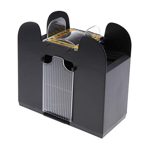 Backbayia 6 Deck Automatischer Kartenmischer Elektrische Kartenmischmaschine Poker Shuffler