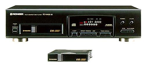 Pioneer PD M 406 (12 Watt Leistungsaufnahme) CD-Player schwarz
