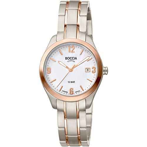Boccia Klassische Uhr 3317-02
