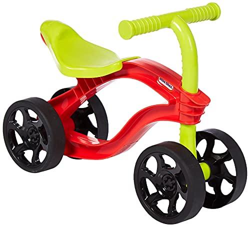 Little Tikes Scooteroo - Tricycle - Jeu d'intérieur ou d'extérieur - Conduite équilibrée - Léger, divertissant - Encourage les jeux actifs, pour les enfants de 12 mois à 3 ans