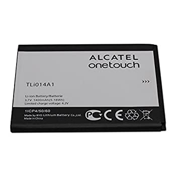 Alcatel Battery TLi014A1 3.7V 1400mAh for Alcatel ONETOUCH Glory 2 Inspire 2 M POP - 100% OEM - in Non-Retail Package