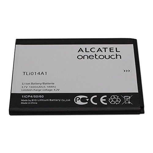 Alcatel Battery TLi014A1 3.7V 1400mAh for Alcatel ONETOUCH Glory 2, Inspire 2, M POP - 100% OEM - in Non-Retail Package