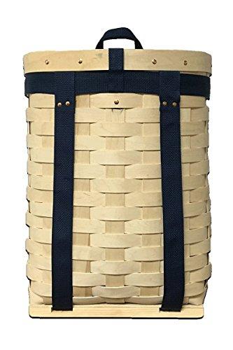 AuSable Brand Trappers Hardwood Veneer Pack Basket 20