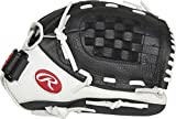 Rawlings Shut Out Series Youth Softball Glove, 12 inch, Basket Web, Right Hand Throw...