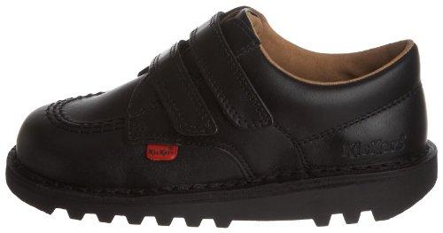 Kickers Kick Lo Vel Boys' School Shoes - Zapatos para niños, negro, 25 EU