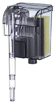 EA Performance Hang-On The Back Power Filter - Up to 4 Gallons - for Desktop and Betta Aquariums - NOT Made in China