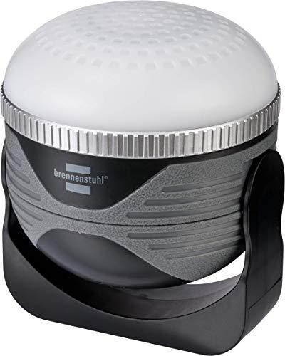 Brennenstuhl 1171640 LED Akku Outdoor Leuchte OLI 310 AB mit Bluetooth Lautsprecher 350lm IP44, schwarz