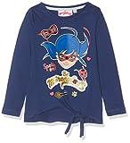 Miraculous 2374 T-Shirt, Bleu, (Taille Fabricant:4 Ans) Fille