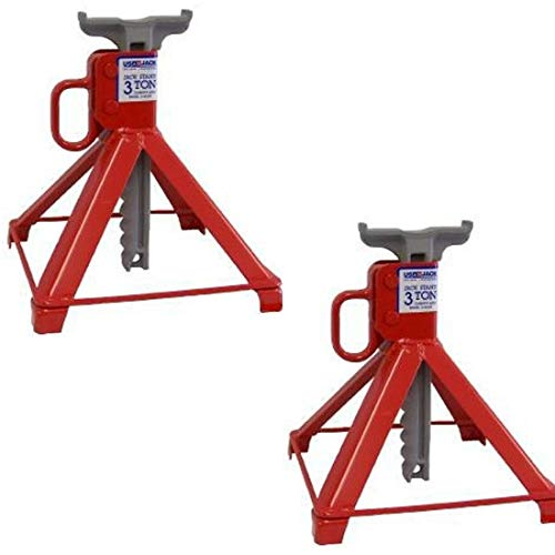 US JACK D-41609 3 Ton Garage Stands 100% Made in...
