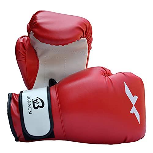 NOERTYB Guantes De Boxeo Fighting Gloves Muay Thai Free Fight MMA Guantes Transpirables Práctica Boxeo para Adultos