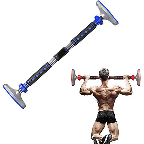 qazxsw Pull Up Bar Home Fitness Horizontal Bar,Suitable for Push-ups, Pull-ups, Sit-ups, Etc. Children's Swing Frame Load 600kg