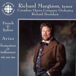 Audio CD Richard Margison ~ French & Italian Arias Book