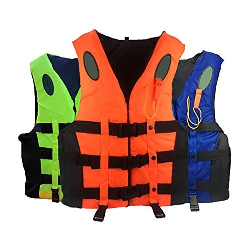 Chaleco de flotabilidad para kayak, chaleco salvavidas de snorkel para adultos, siete tamaños XS/S/M/L/XL/XXL/XXXL para navegar, kayak, deportes acuáticos
