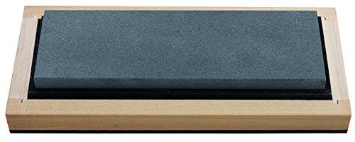RH PREYDA Surgical Black Arkansas Bench Stone - Pierre 4000-6000 - 150 x 50 x 19 mm - Boîte en Bois - Multicolore - Taille Unique