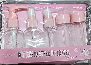 Empty bottles travel set